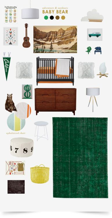Baby Bear Boys Nursery | The Land of Nod