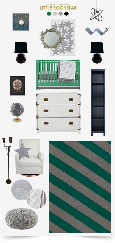 Little Rockstar Nursery Design | The Land of Nod