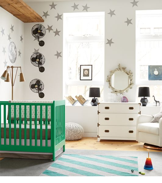 Little Rockstar Nursery Ideas | The Land of Nod