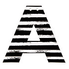 A Black and White Letter