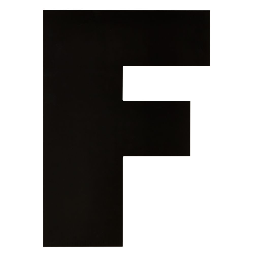 Not Giant Enough Letter F