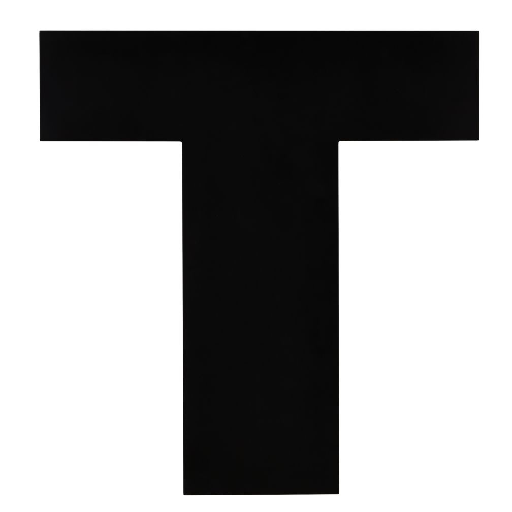 Not Giant Enough Letter T