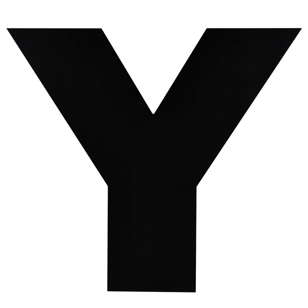 Not Giant Enough Letter Y