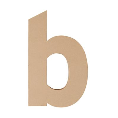 Large B Crafty Kraft Paper Letter