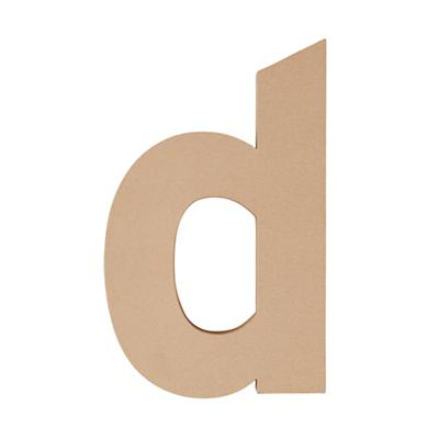 Large D Crafty Kraft Paper Letter