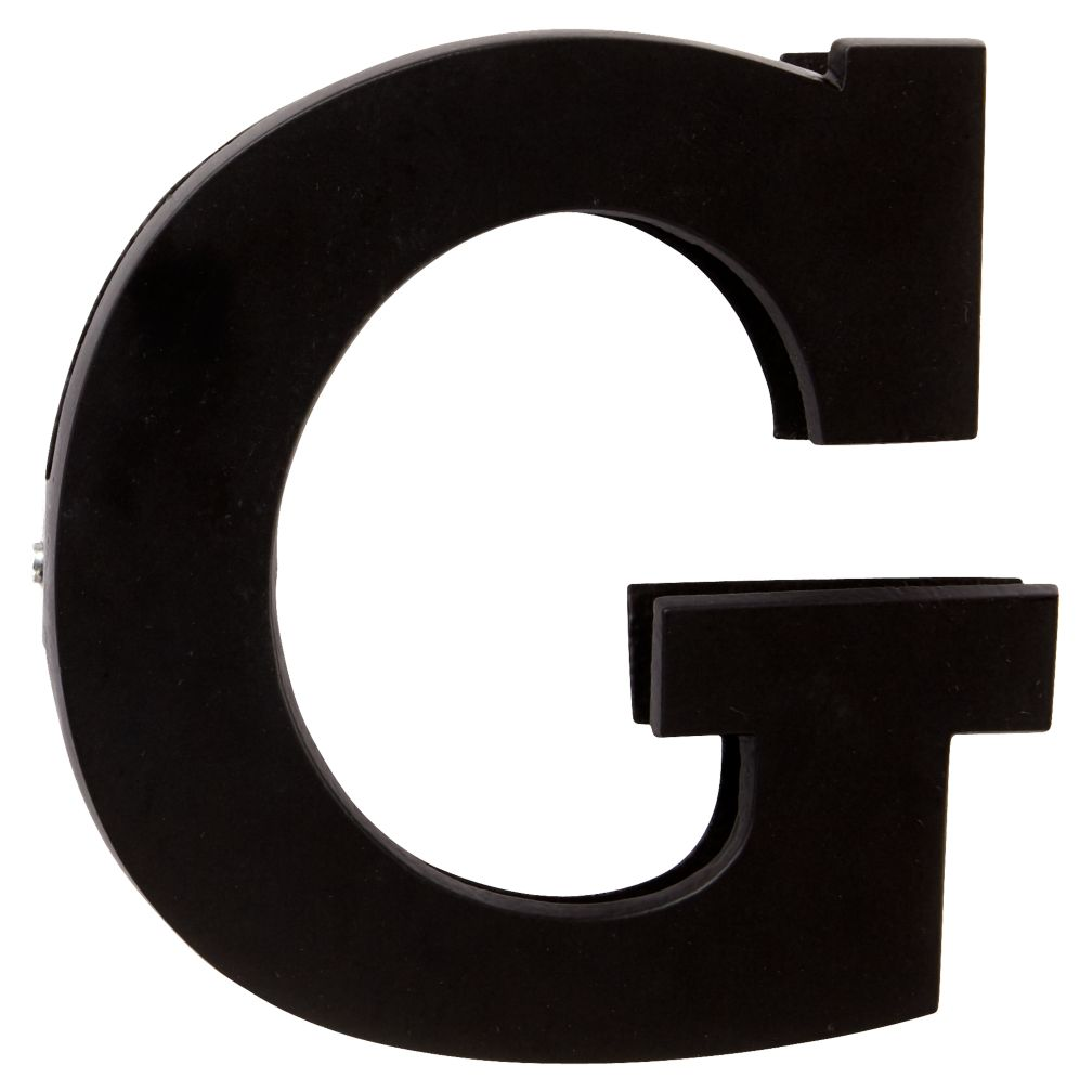 G Typeface Wall Clip