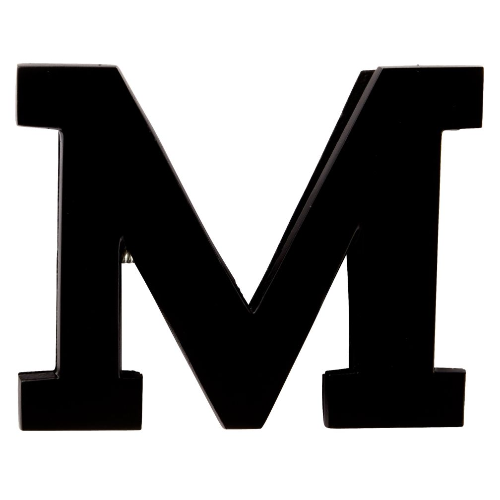M Typeface Wall Clip