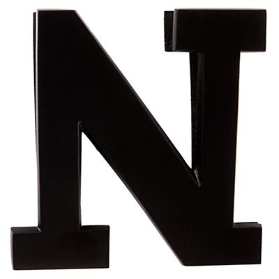 N Typeface Wall Clip