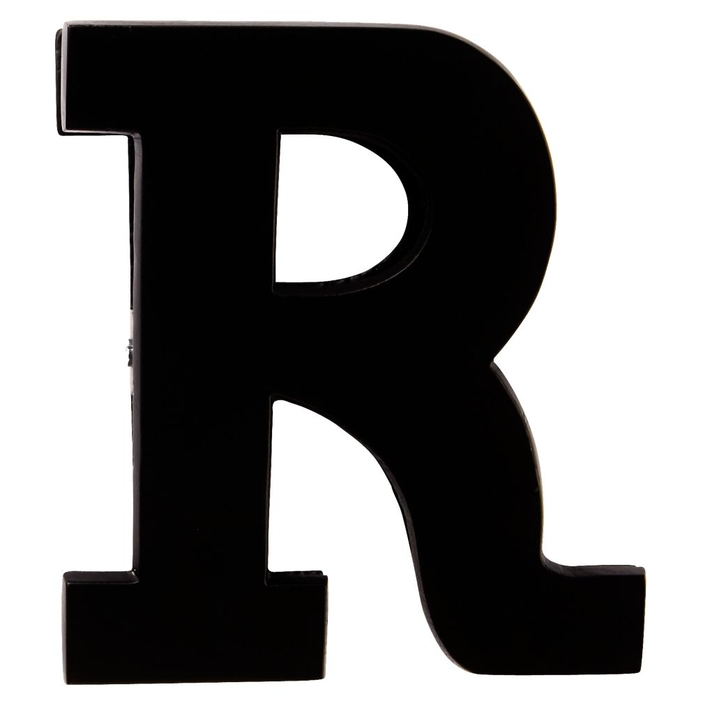 R Typeface Wall Clip