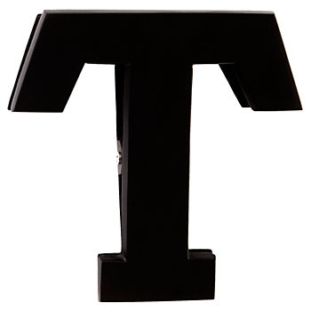 T Typeface Wall Clip