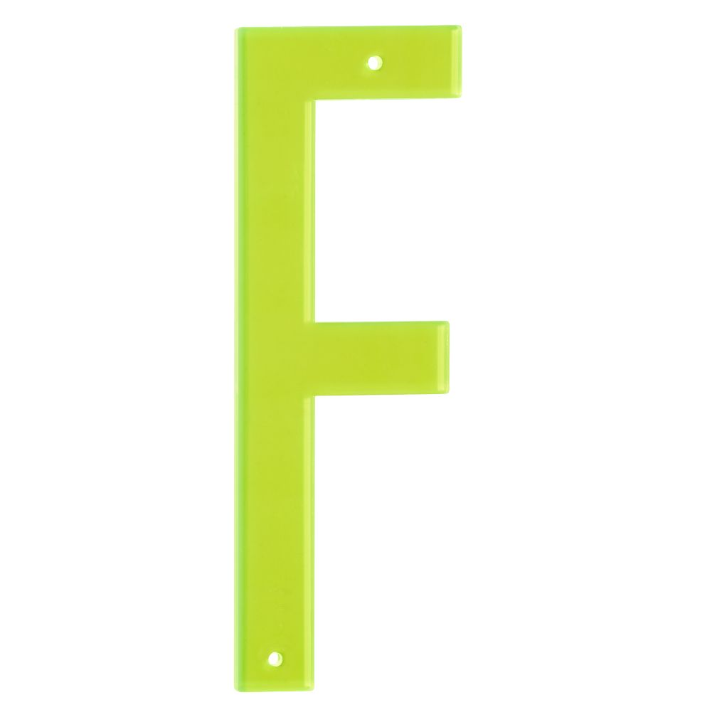 'F' Boldface Letter