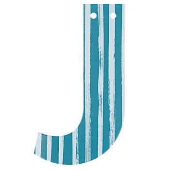'J' Perfect Pattern Boy Letter
