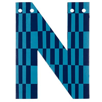 'N' Perfect Pattern Boy Letter