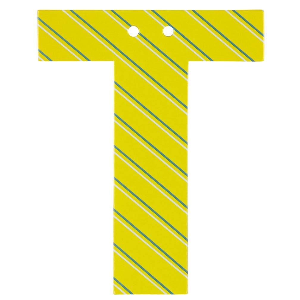 'T' Perfect Pattern Boy Letter