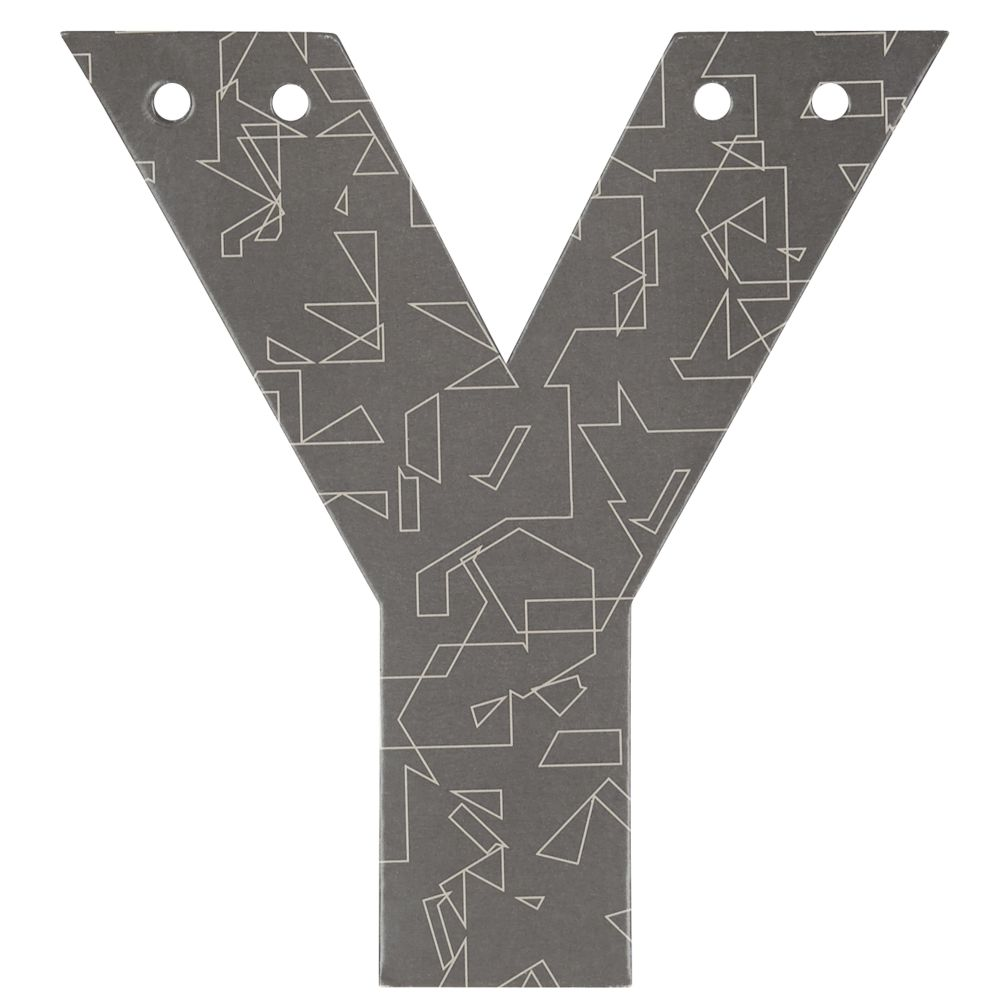 'Y' Perfect Pattern Boy Letter