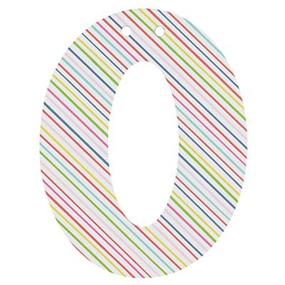 'O' Perfect Pattern Girl Letter