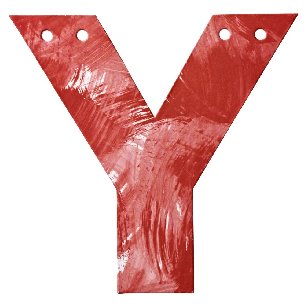 Y Watercolor Letter