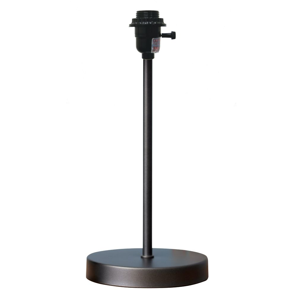 Mix and Match Graphite Table Lamp Base