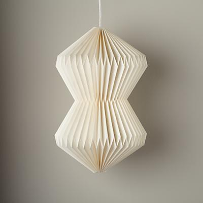 Looseleaf Pendant Shade (White)