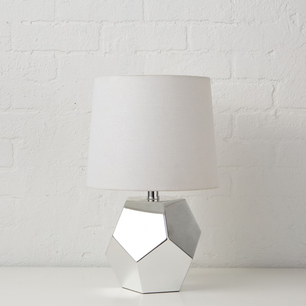 Between a Rock Silver Table Lamp