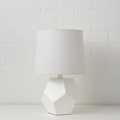 Between a Rock White Table Lamp