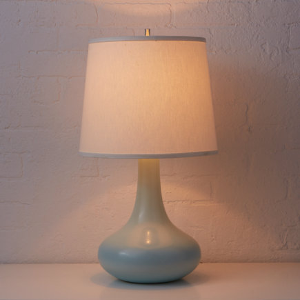 Kids Lighting: Kids Ceramic Blue Table Lamp - Lt