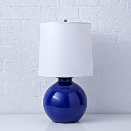Kids Lighting: Kids Blue Gumball Table Lamps - Blue Gumball Table Lamp