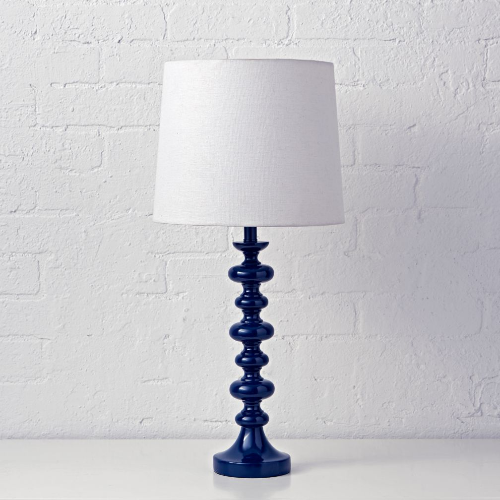 Jenny Lind Table Lamp (Dark Blue)