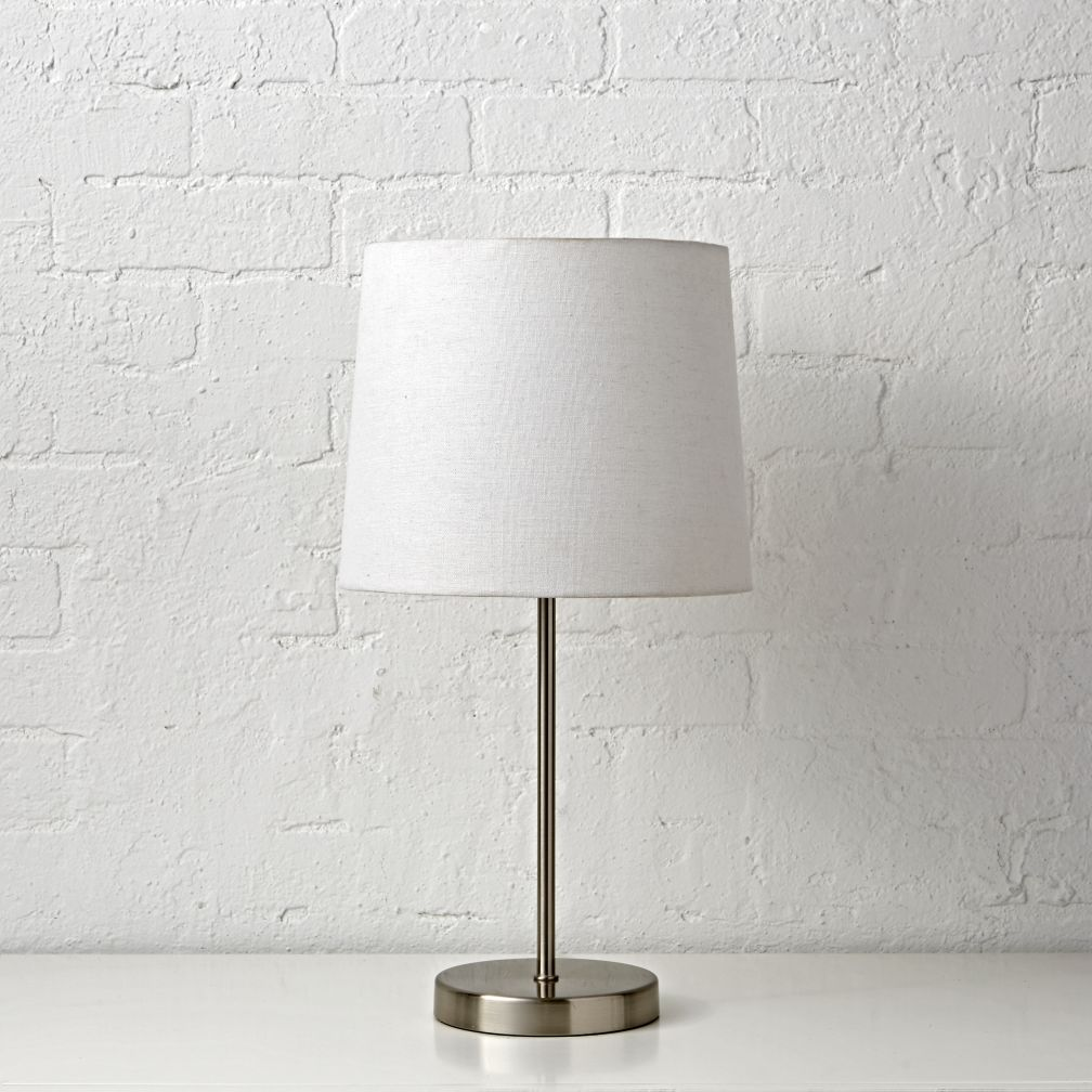 Light Years Nickel Table Lamp