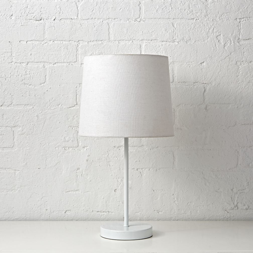 Light Years White Table Lamp