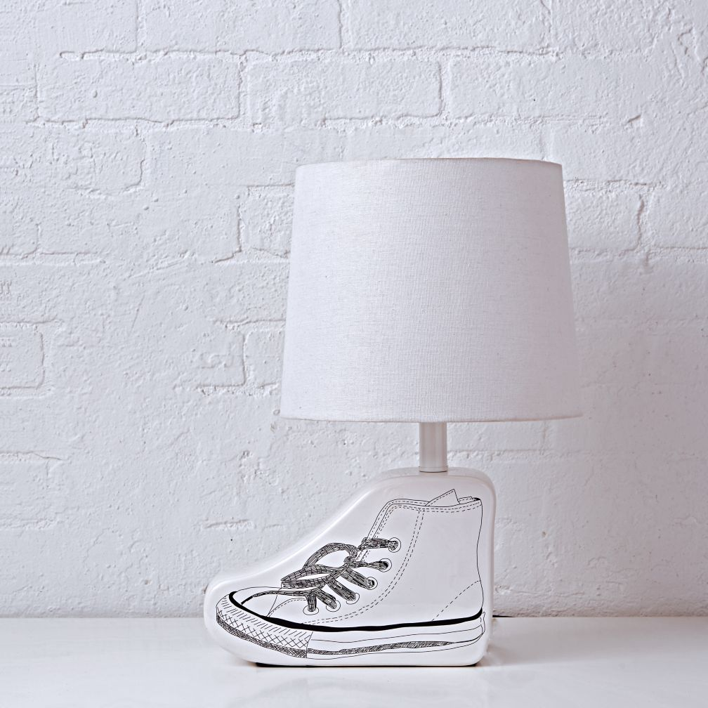 Sketchbook Table Lamp Base (Shoe)