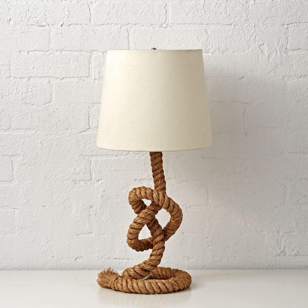 Nautical Rope Table Lamp - Tug O Lamp