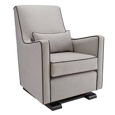 Luca Glider (Grey w/ Leather)