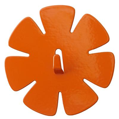 Orange Flower Magnet Hook