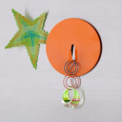 Orange Spot On Magnet Hook