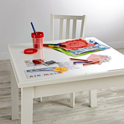 Small Acrylic Desk Mat - Small Acrylic Play Table Mat