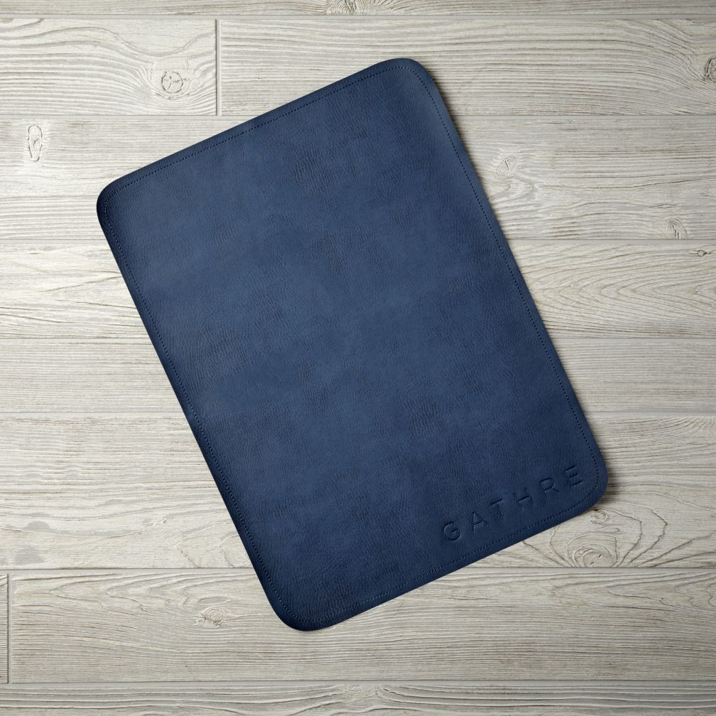 Micro Gathre Mat (Navy)