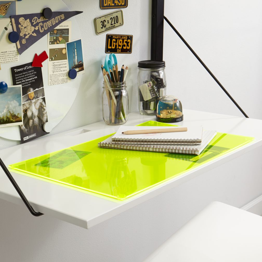 I Can See Clearly Now Desk Mat (Yellow)