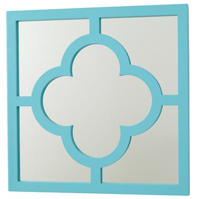 My Lucky Four Leaf Mirror (Aqua)