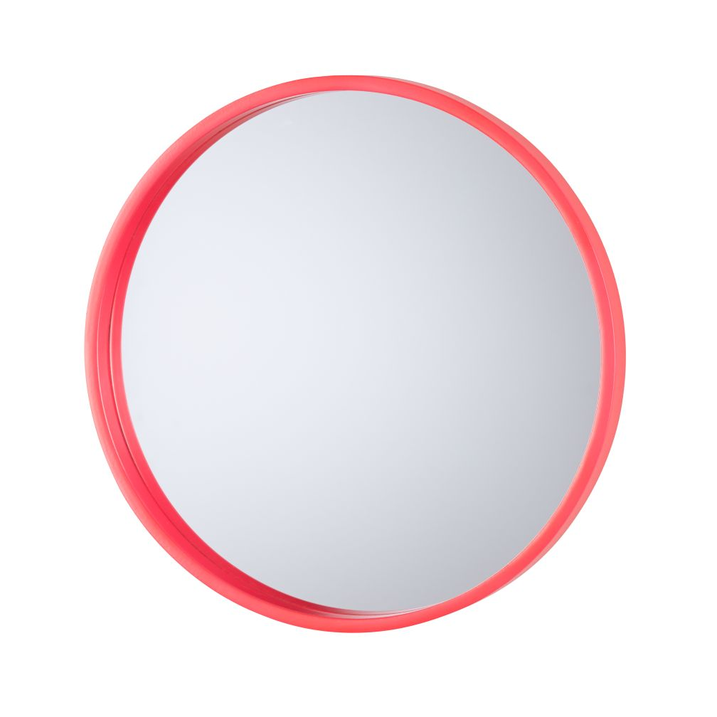 Electric Avenue Mirror (Pink Circle)