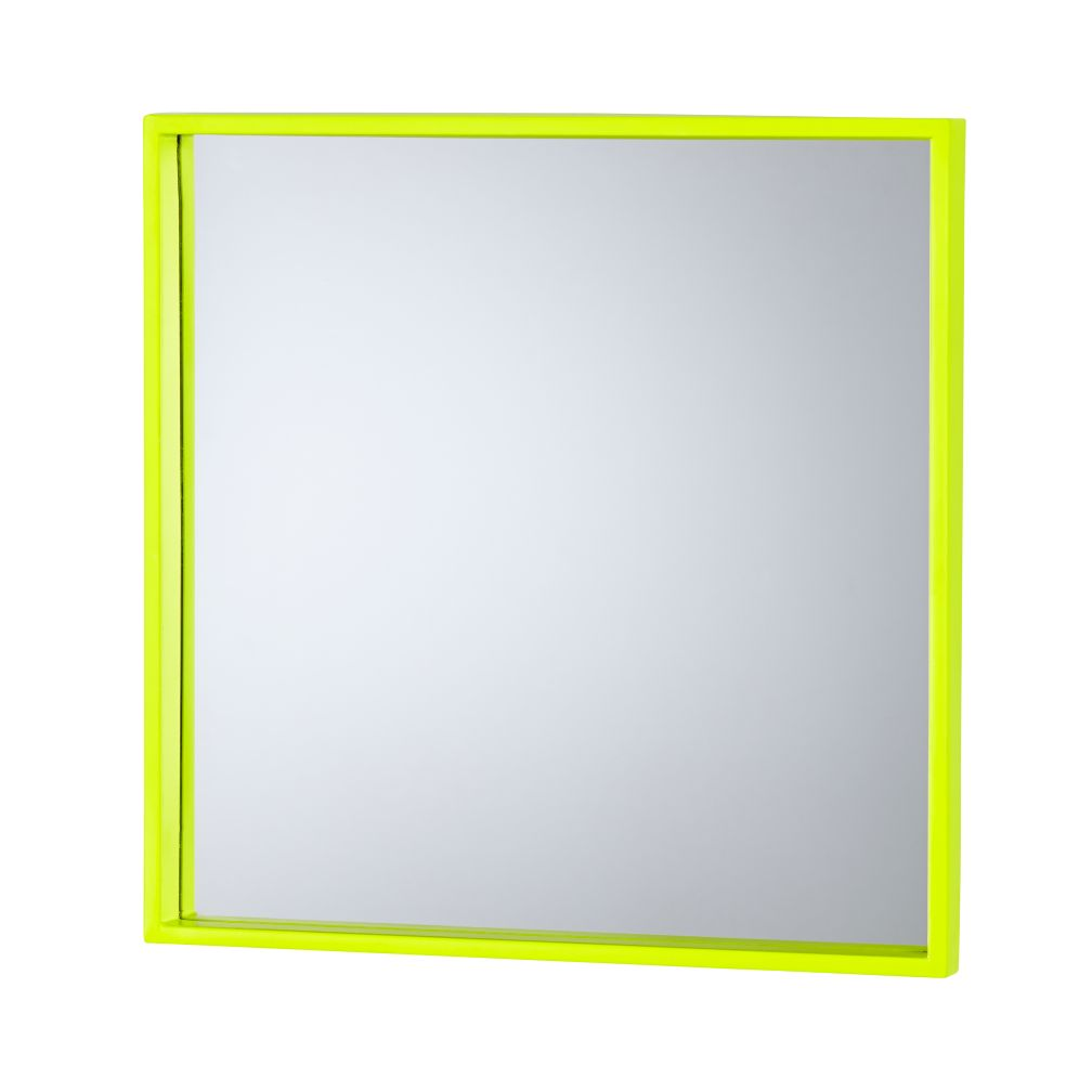 Electric Avenue Mirror (Yellow Square)