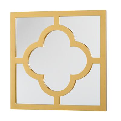 My Lucky Four-Leaf Mirror (Gold)
