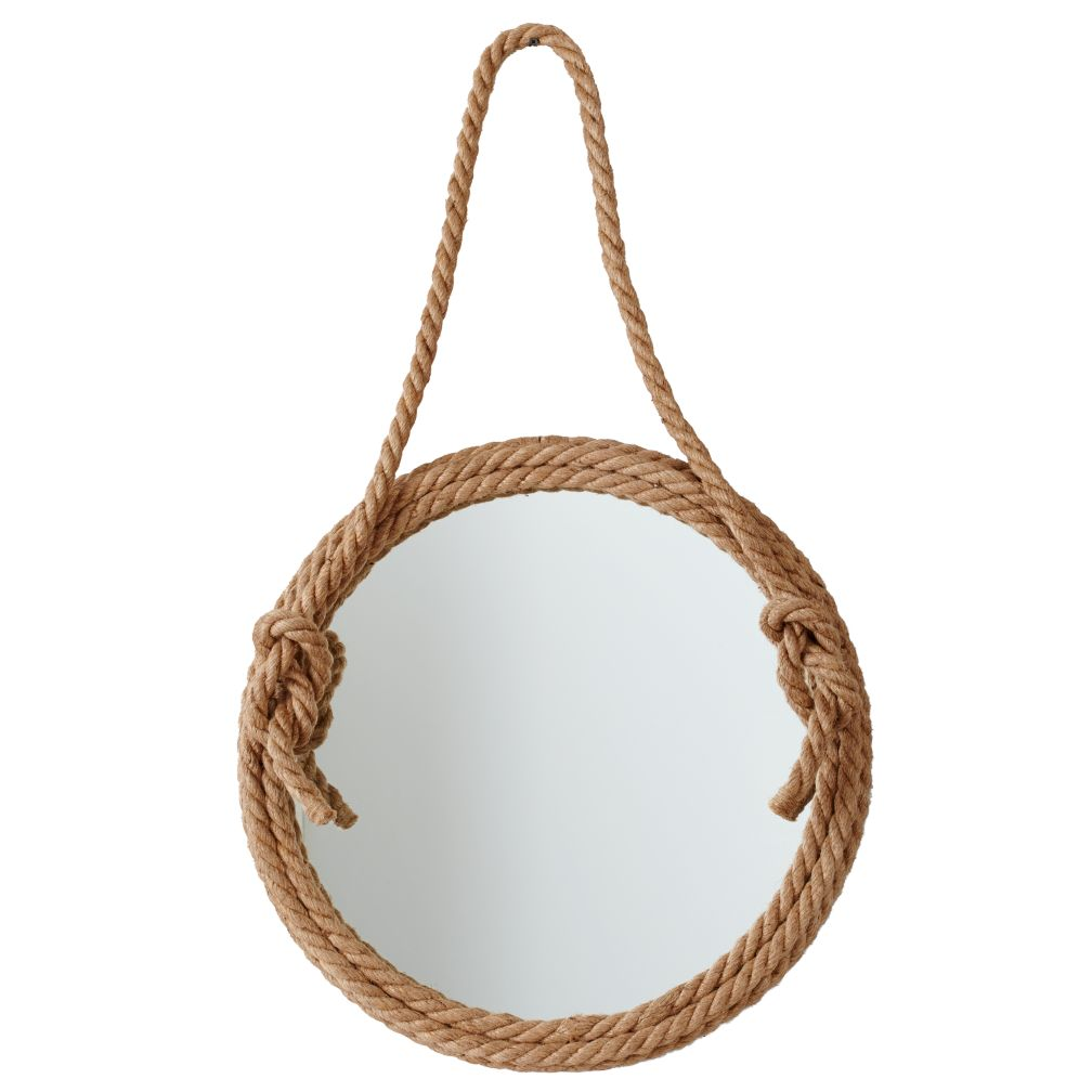 Nautical Rope Wall Mirror - Top Rope Mirror