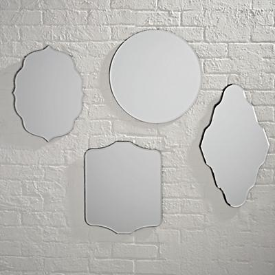 Set of 4 Looking Glass Mirror