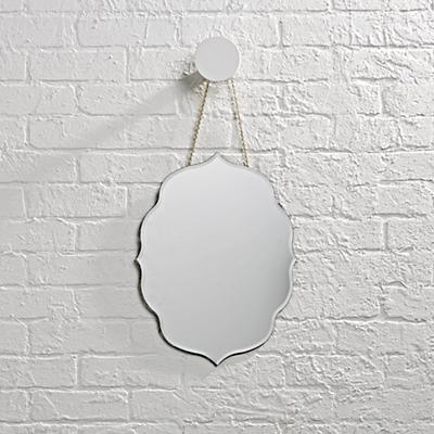 Looking Glass Scrolled Mirror