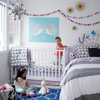 Unicorn Parade Crib Bedding