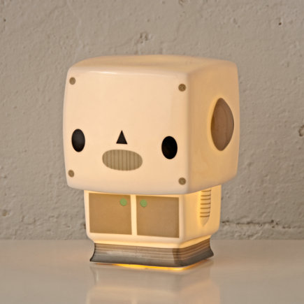 Robot Nightlight - Robot Bedtime Buddy Night Light
