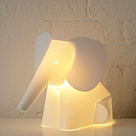 Kids Nightlights: Elephant Lamp Nightlight - Elephant Night Light