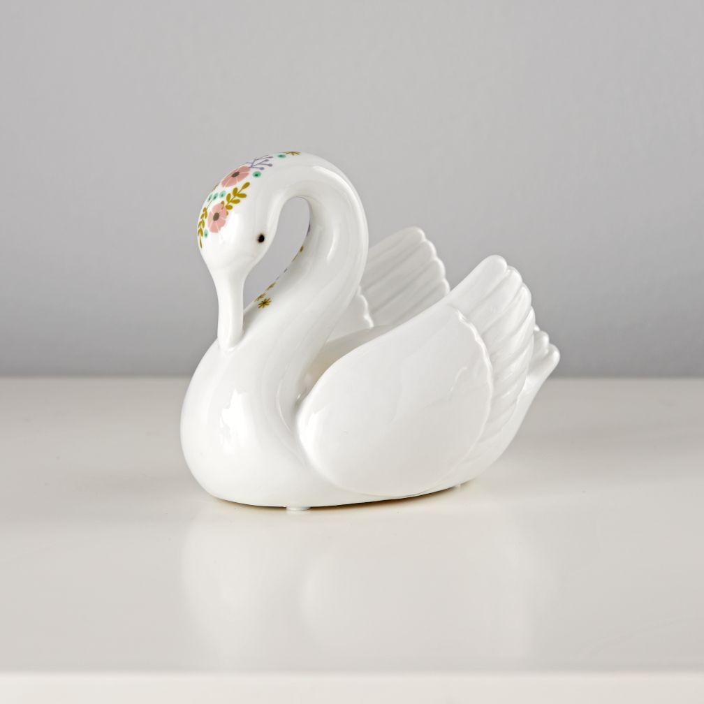Floral Fauna Nightlight (Swan)