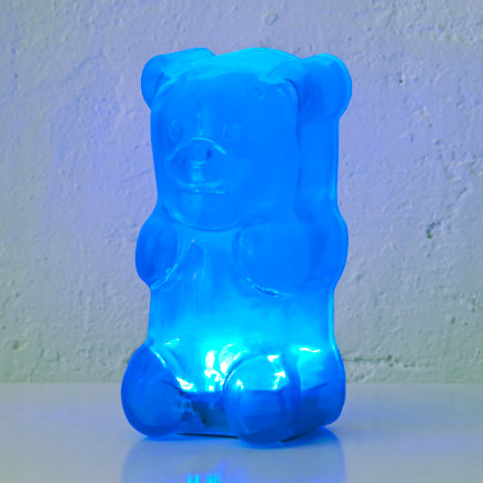 Blue Gummy Bear Night Light